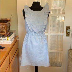 Adorable Madewell Ruffle Dress